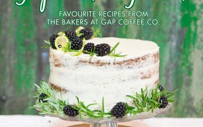 Gap Coffee Shop Launch Baking Book